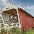 Imes Covered Bridge by Susan Rissi Tregoning