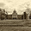 Immaculata University In Black And White by Bill Cannon