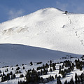 Imperial Bowl On Peak 8 At Breckenridge Colorado by Brendan Reals