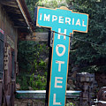 Imperial Hotel Sign In Cripple Creek by Catherine Sherman