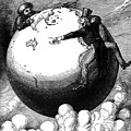 Imperialism Cartoon, 1876 - To License For Professional Use Visit Granger.com by Granger