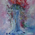 Impression- Flowers And Vase by Edward Wolverton