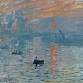 Impression Sunrise by Claude Monet