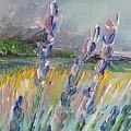Impressionism Fantasy Field by Eric  Schiabor