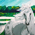 Impressionism Horse by Anna  Katherine