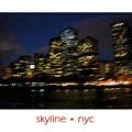 Impressionist Skyline New York City by Jessica Westermeyer