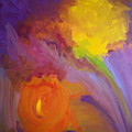Impressionistic Flowers by Ron Snyder