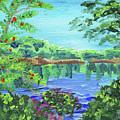 Impressionistic Landscape Xx by Irina Sztukowski