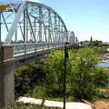 Impressionistic Llano Bridge by JG Thompson