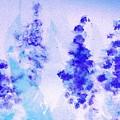 Impressionistic Lupines 1 by Hazel Holland