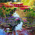 Impressions Of Summer Colors by John Lautermilch