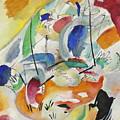 Improvisation  Sea Battle by Wassily Kandinsky
