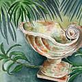 In A Tropical Garden  by Brenda Owen