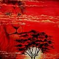 In An Arfican Sunset by Ruanna Sion Shadd a'Dann'l Yoder