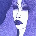 In Blue Colour by Wojtek Kowalski