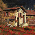 In Campagna La Sera by Guido Borelli