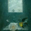 In Front Of The Window by Alexei Antonov