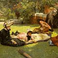 In Full Sunlight by James Jacques Joseph Tissot
