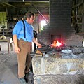In The Blacksmith Shop by John Malone