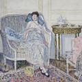 In The Boudoir by Frederick Carl Frieseke