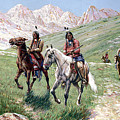 In The Cheyenne Country by John Hauser