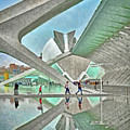 In The City Of Arts And Sciences by Digital Photographic Arts