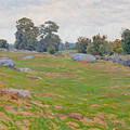 In The Fields by Edward Herbert Barnard