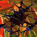 In The Forward Mind Abstract by Jeff Swan