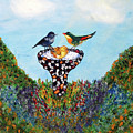 In The Garden by Ann Ingham