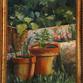In The Garden by Colomba Furio-Spigner