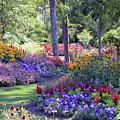 In The Garden by Marsha Mood