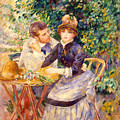 In The Garden by Pierre Auguste Renoir