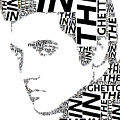 In The Ghetto Elvis Wordart by Alice Gipson