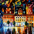 In The Old City by Leonid Afremov