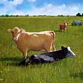 In The Pasture by Joyce Geleynse