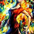 In The Style Of Flamenco by Leonid Afremov