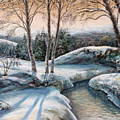 In The Winter In Carpathians.  by Maya Bukhina