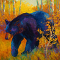 In To Spring - Black Bear by Marion Rose