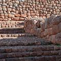 Inca Steps At Chinchero  by Bob Phillips