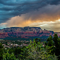 Incoming Storm Over Sedona by Susan Westervelt