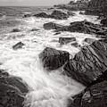 Incoming Wave, Portland Head Light, Cape Elizabeth, Me #79000 by John Bald