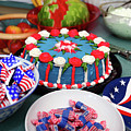 Independence Day 4th July Cake And Sweets by James Brunker