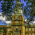 Independence Hall-philadelphia by Nick Zelinsky