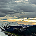 Independence Pass Sunset by Bob Camp