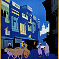 India Travel Poster by Pd