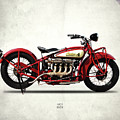 Indian 401 1928 by Mark Rogan