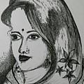 Indian Beauty  by Pushpa Sharma