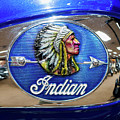 Indian Bike Vintage 111516 by Rospotte Photography