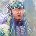 Indian Boy by Bin Feng