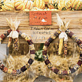 Indian Corn Wreaths by Tracy Winter